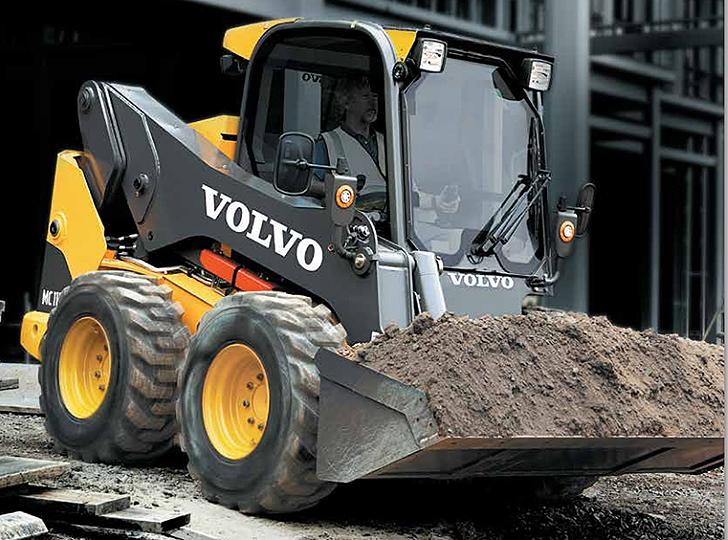 Volvo Construction Equipment - MC110C Skid-Steer Loaders