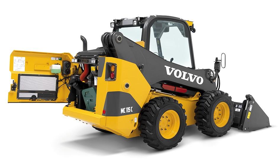 Volvo Construction Equipment - MC115C Skid-Steer Loaders