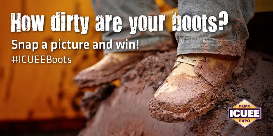 ICUEE Wants Photos of Your Dirty Boots
