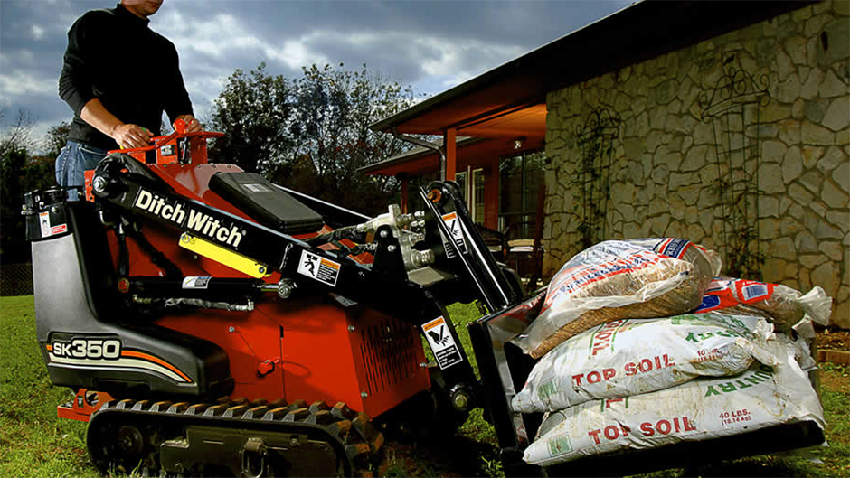 Ditch Witch - SK350 Mini Compact Track Loaders