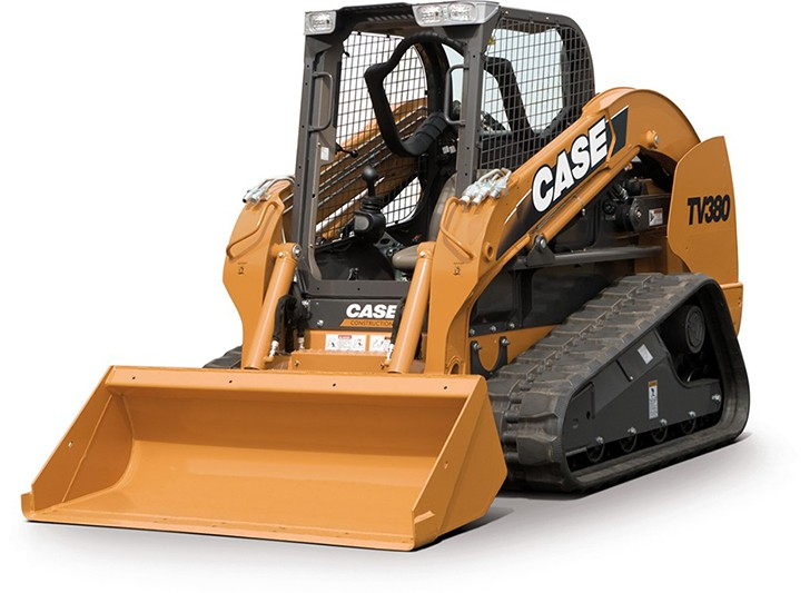 Case Construction Equipment - TV380 Compact Track Loaders