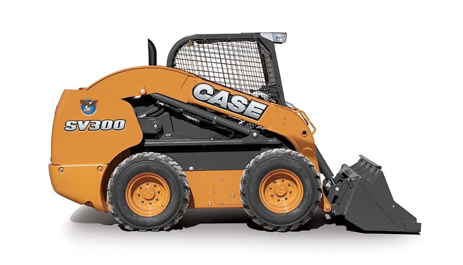 CASE Construction Equipment - SV300 Skid-Steer Loaders