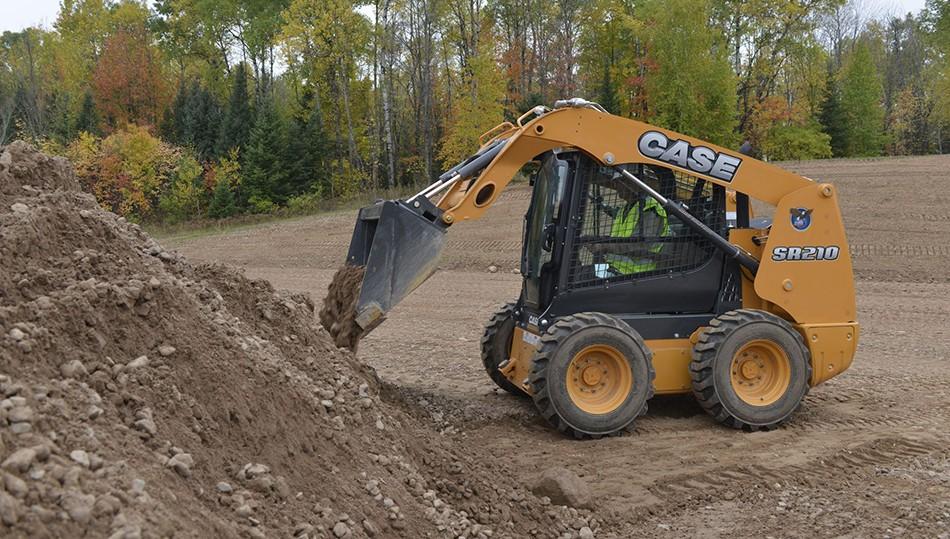 CASE Construction Equipment - SR210 Skid-Steer Loaders