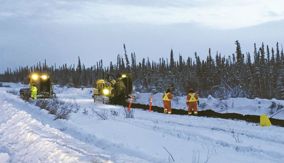 Trenching in the Arctic
