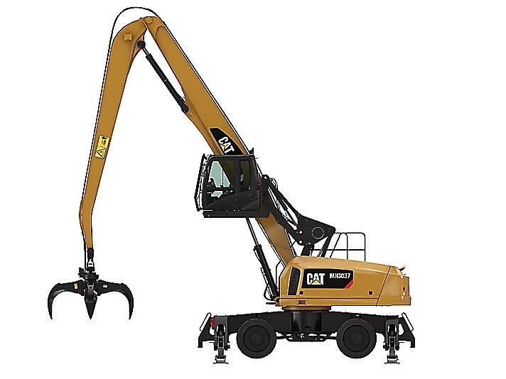 Caterpillar Inc. - MH3037 Millyard Arrangement Material Handlers