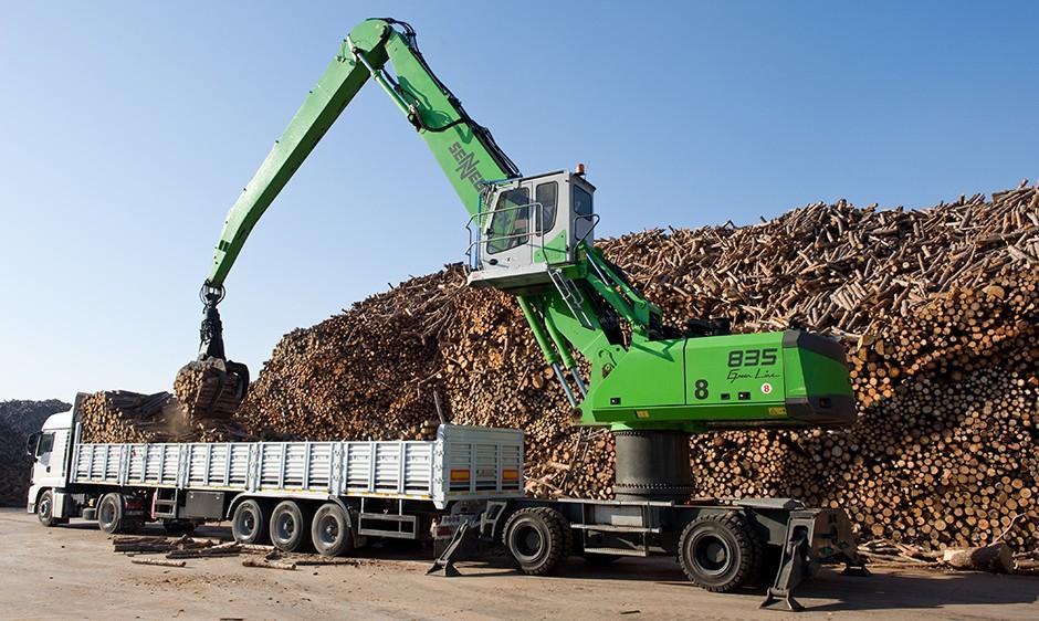 SENNEBOGEN LLC - 835 M Material Handlers