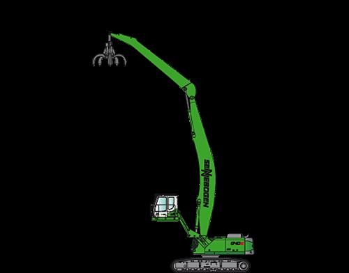 SENNEBOGEN LLC - 840 R-HD Material Handlers