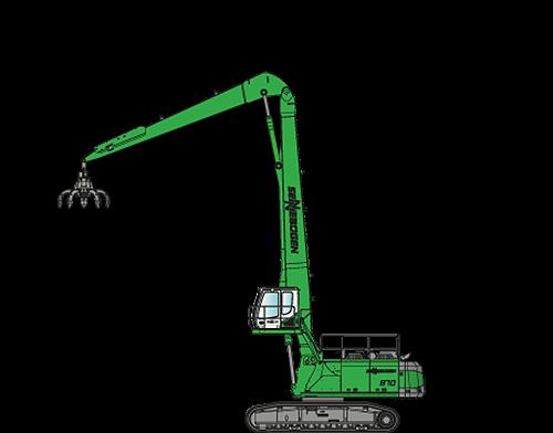 870 R-HD Material Handlers