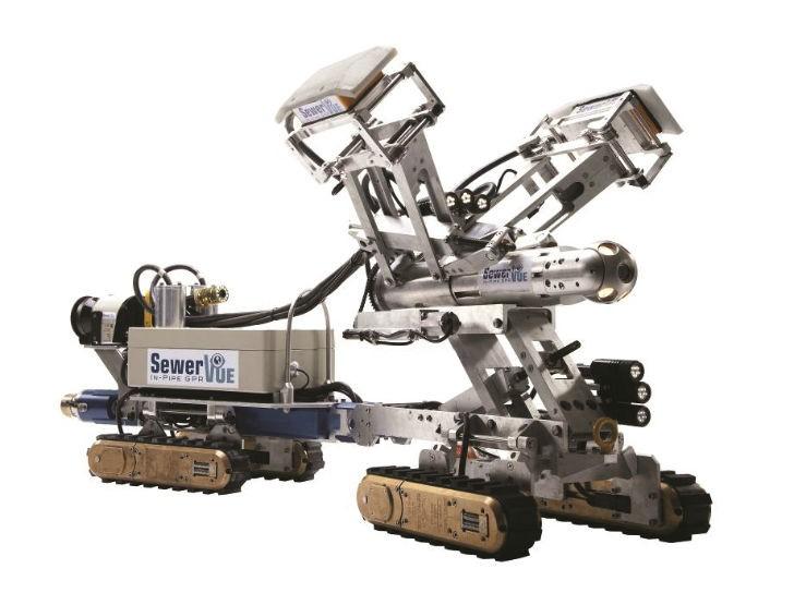 Multi-sensor inspection robot shows benefits of pipe penetrating radar