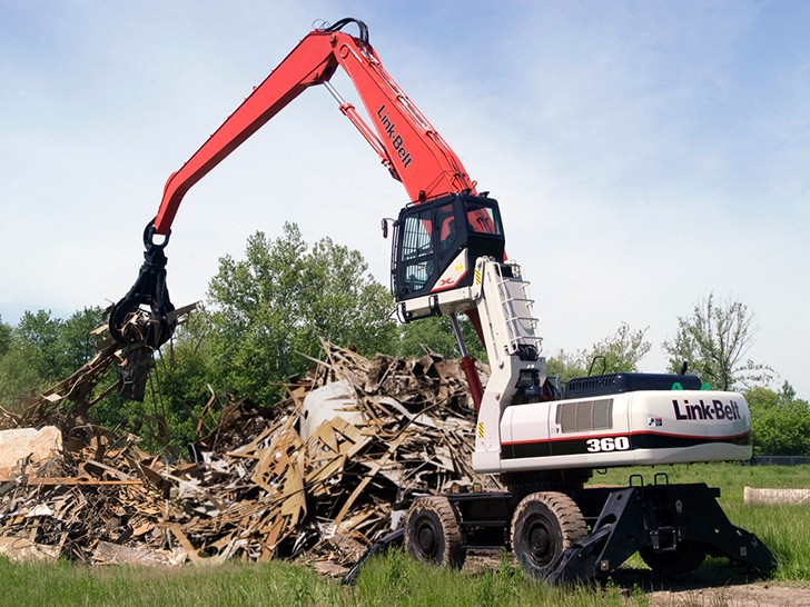 Link-Belt Construction Equipment Company - 360 X2 RT Material Handlers