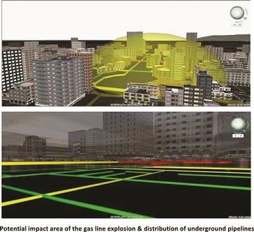 3D GIS For Underground Utilities Management