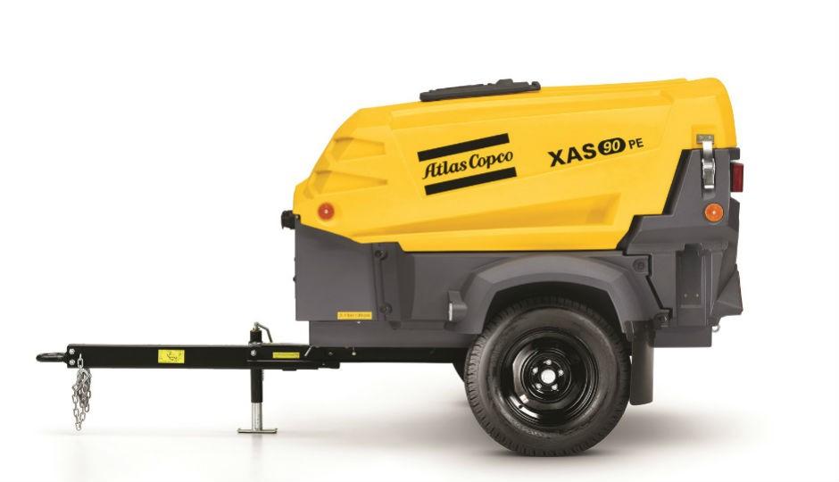 New, Compact XAS 90 Portable Air Compressor