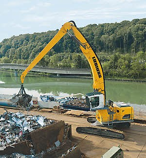 Liebherr Canada -  LH 120 C Litronic Material Handlers