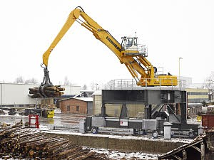 Liebherr Canada - EP 954 C Stationary Material Handlers