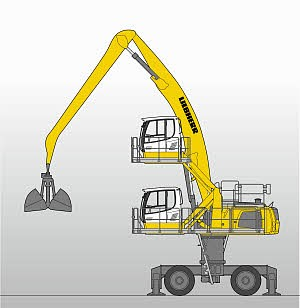 Liebherr Canada - LH 50 M High Rise Litronic Material Handlers