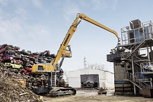 Liebherr Canada - LH 60 C High Rise Litronic Material Handlers