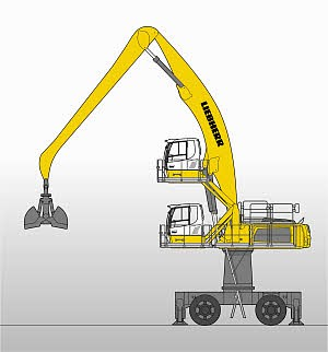 Liebherr Canada - LH 80 M High Rise Litronic Material Handlers