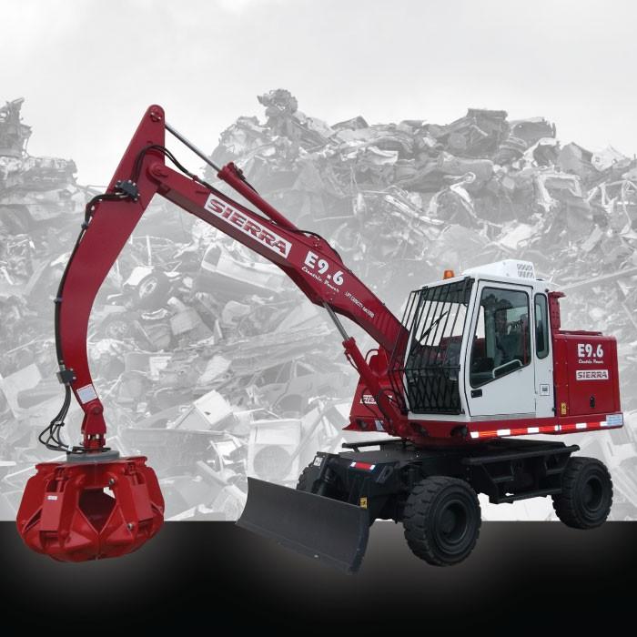 Sierra International Machinery - E9.6 Electric Crane Material Handlers