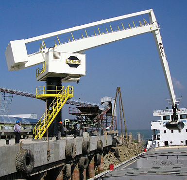 E-Crane International USA - EH900 Material Handlers