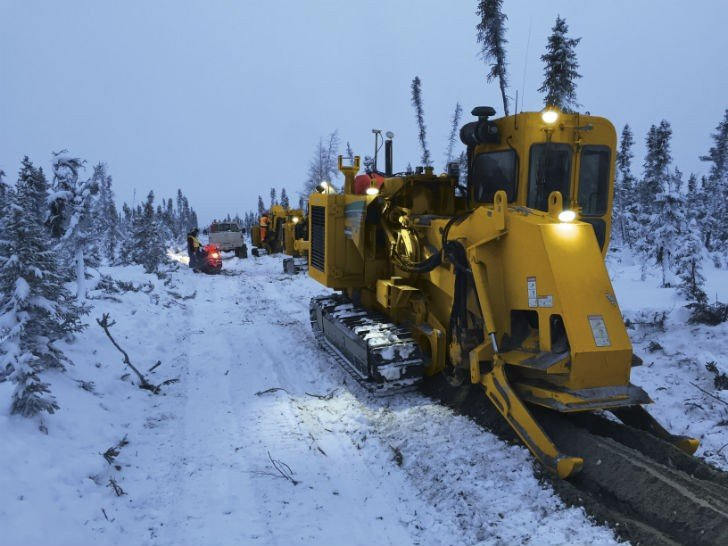 Trenching Above the Arctic Circle