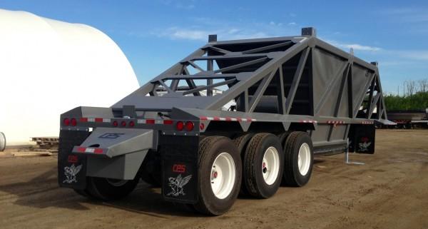 Manac Western - Tridem Clam Dump Clam Dump Trailers