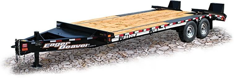 Eager Beaver Trailers - B6DOW Lowboy Trailers