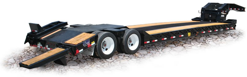 Eager Beaver Trailers - 35 GSL-BR Lowboy Trailers