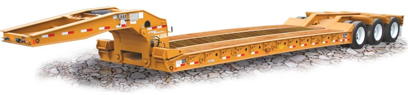 Eager Beaver Trailers - 55 GSL-3 Lowboy Trailers