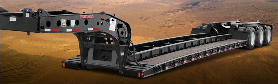 Fontaine Trailer Company - Magnitude 55H-DSR Lowboy Trailers