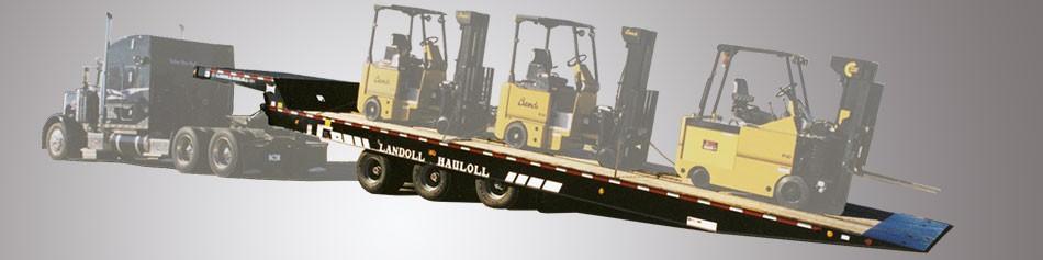 Landoll Corporation - Model 318D Tandem Axle Trailers