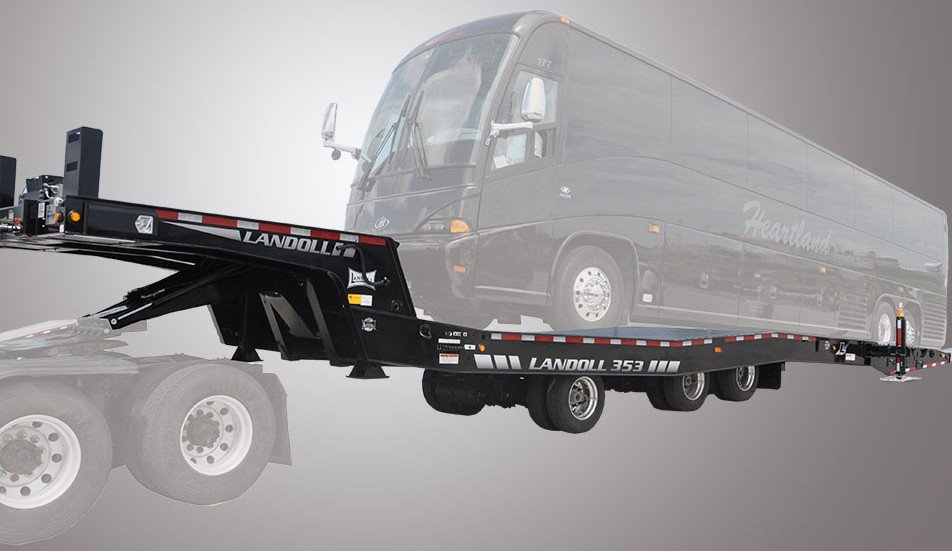 Landoll Corporation - Model 353 Tandem Axle Trailers