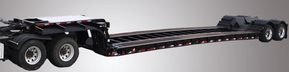 Landoll Corporation - MODEL 835D-CONSTRUCTION Lowboy Trailers