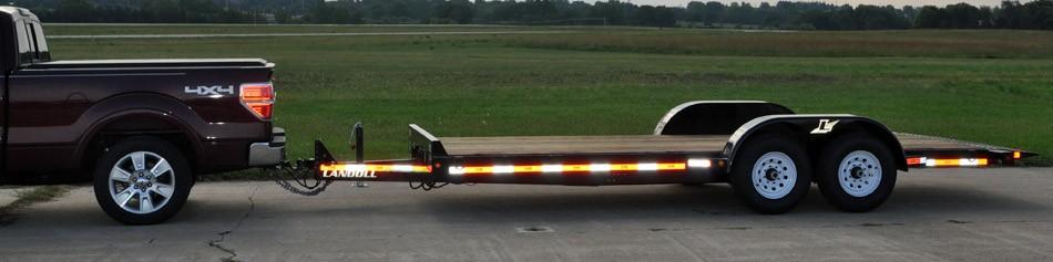 Landoll Corporation - Model LT1220 Tandem Axle Trailers