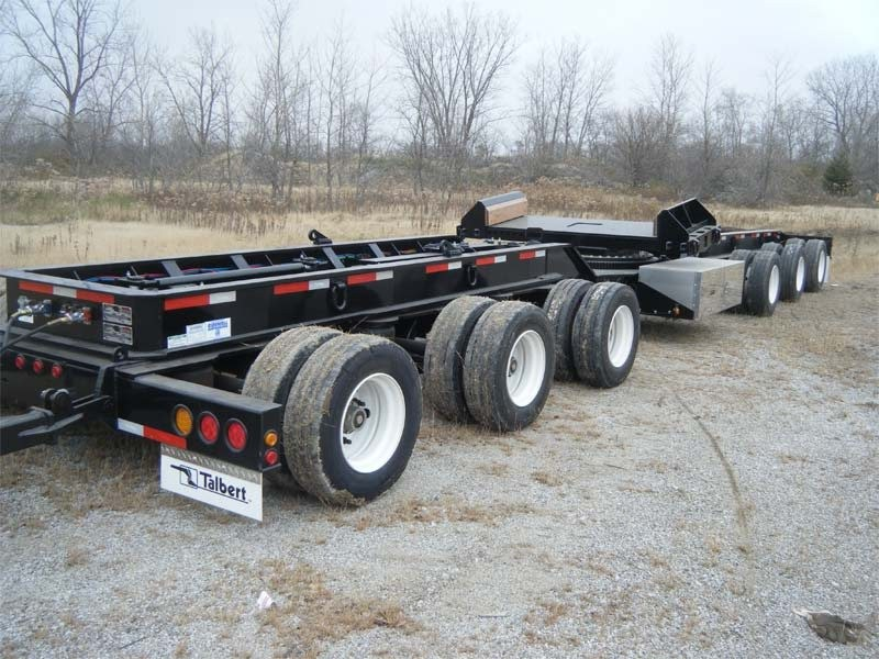 6 Axle Steer Dolly Tandem Axle Trailers