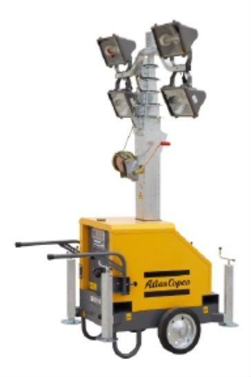 Atlas Copco Introduces New Plug-and-Light Tower