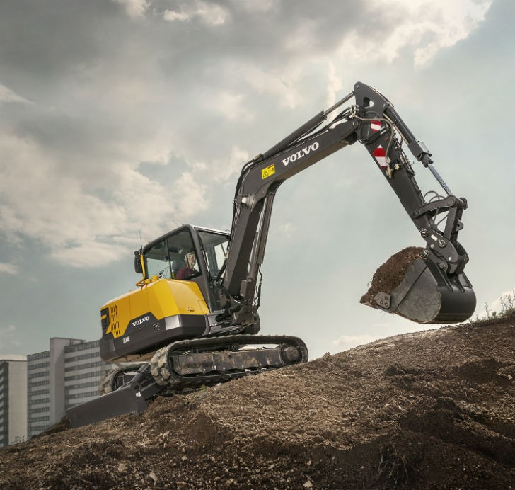 Volvo EC60E Increases Swing Force, Lifting Capacity and Power While Improving Fuel Efficiency ...