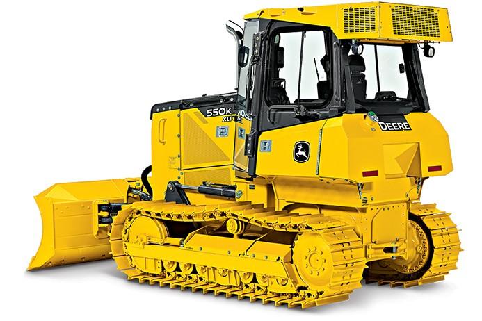 John Deere Construction & Forestry - 550K Crawler Dozers