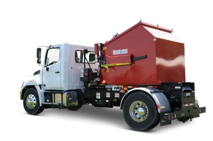 Galbreath Debuts Loaded Container Handler - Recycling Product News