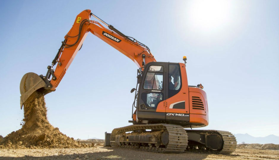 DX140LCR-5 crawler excavator