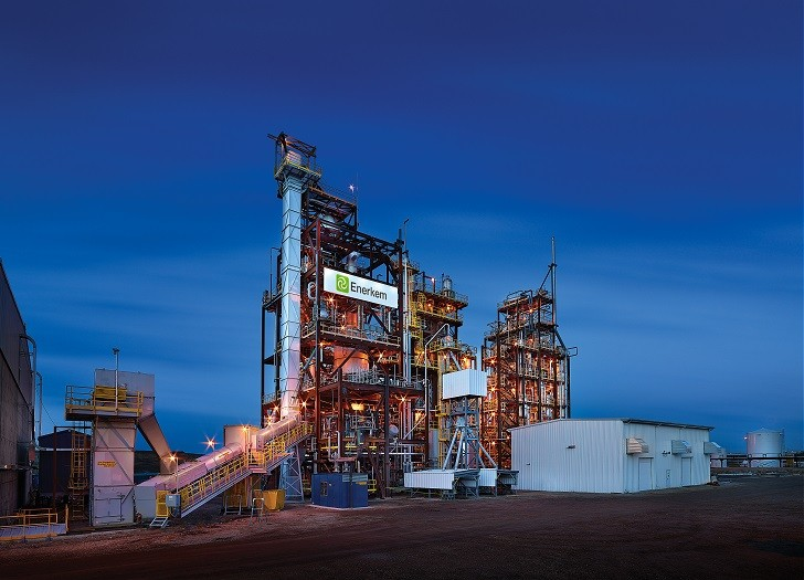 The Enerkem Alberta Biofuels facility is considered one of the first commercial advanced biorefineries in the world.