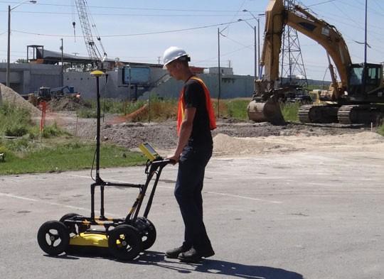 Sensors & Software Inc. - Utility SmartCart Ground Penetrating Radar