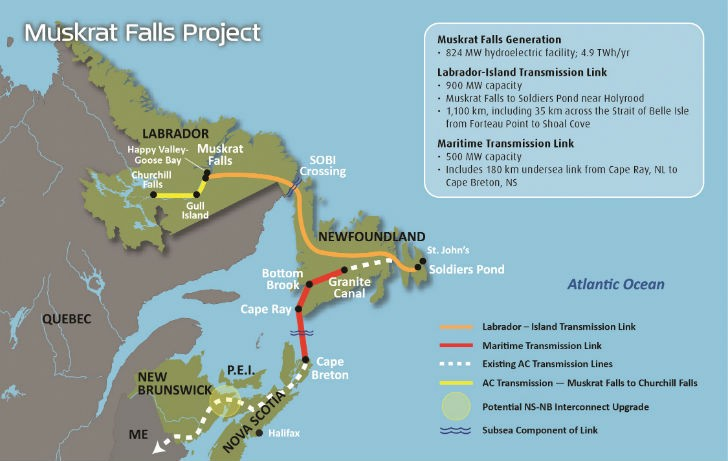 The Strait of Belle Isle Marine Crossing is part of a multi-billion-dollar project to move hydroelectric power from Labrador to Newfoundland. Electricity will be generated by new dams on the Lower Churchill River. Images courtesy of Nalcor.