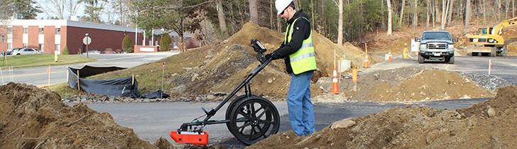 Geophysical Survey Systems, Inc. (GSSI) - UtilityScan® DF Ground Penetrating Radar