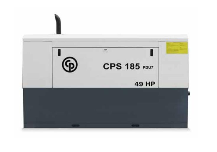 Chicago Pneumatic - CPS 185 PDU Compressors