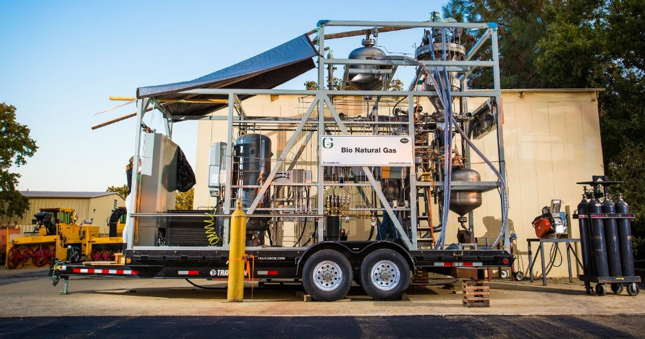 New Bio Natural Gas Technology Debuts in California