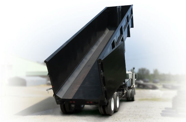 Trail Ox Series Scrap Trailer from Ox Bodies