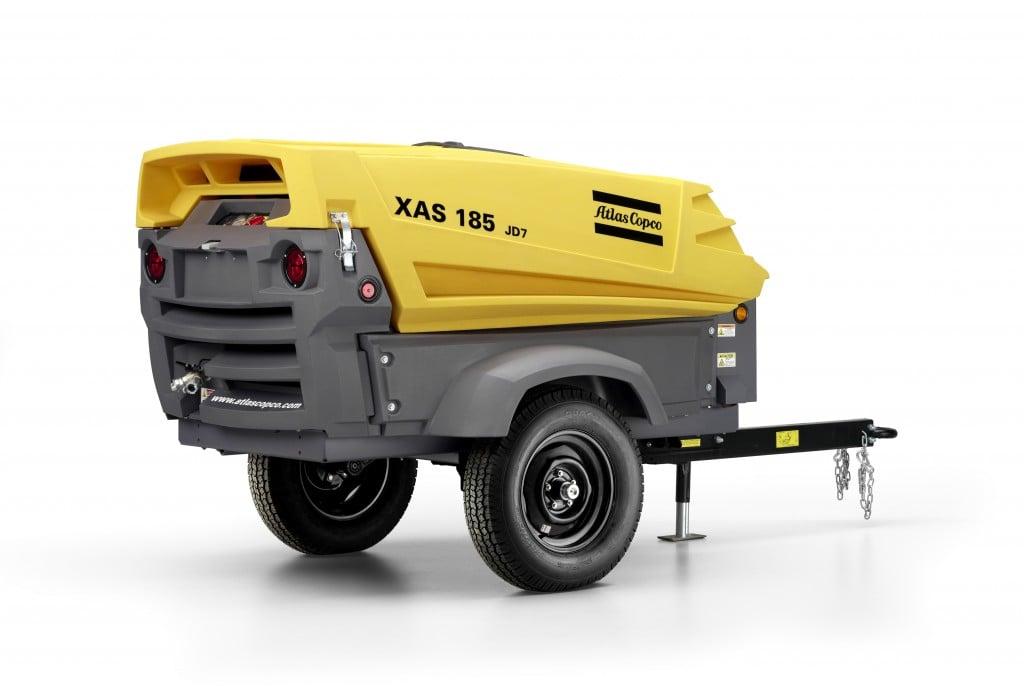Atlas Copco - 185 cfm Compressors