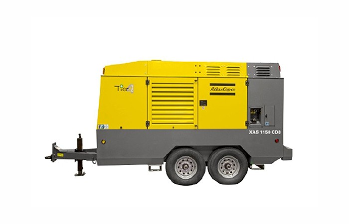 Atlas Copco - Productivity Partner range: 700-1800 cfm Compressors