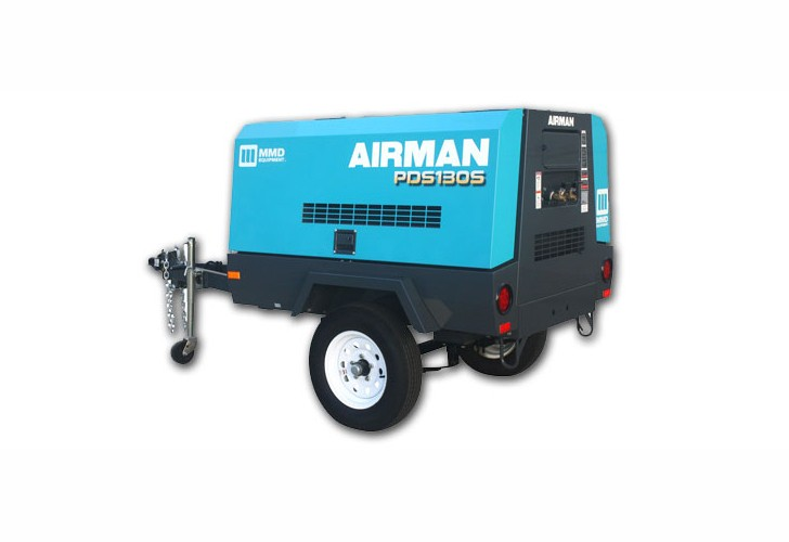 MMD Equipment - Airman PDS130S-6B4 Compressors