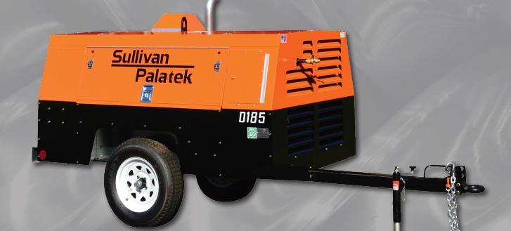 Sullivan-Palatek, Inc. - D185PDZ Compressors